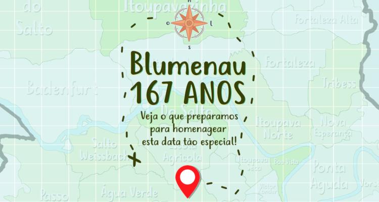 167 anos Blumenau
