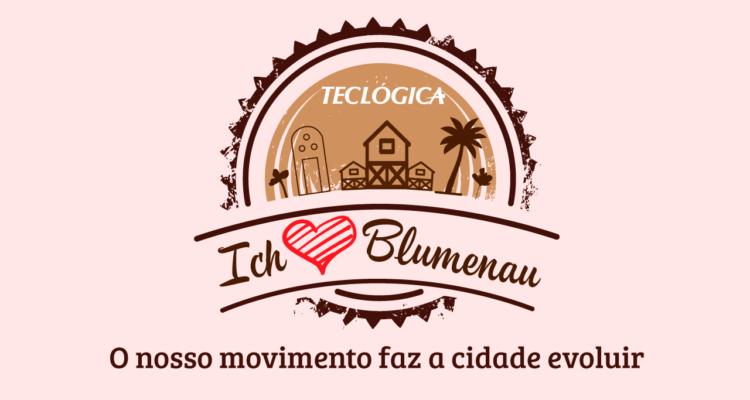 Ich Liebe Blumenau por Teclógica - 168 anos de Blumenau